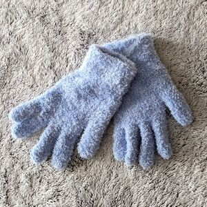 *NWOT* Fuzzy Blue Gloves